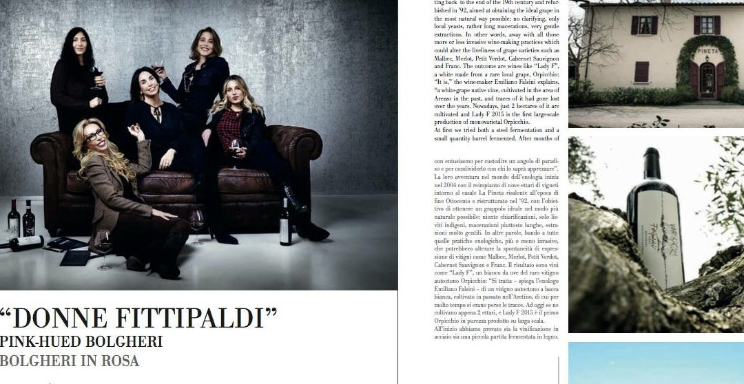 """Donne Fittipaldi"" Bolgheri in rosa –  Toscana & Chianti News"