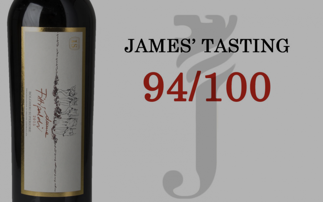 JAMES' TASTING: DONNE FITTIPALDI BOLGHERI ROSSO SUPERIORE 2015